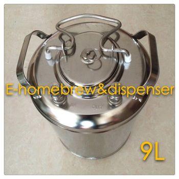 Brand New Beer Keg,304  Stainless Steel, Ball Lock Cornelius Style Keg  , Closure Lid with Pressure Relief Valve