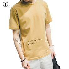 Vetement Homme Summer T-shirts Fashion Letter Man T-Shirt Cotton O Neck T Shirt Mens Short Sleeve Mens tshirt Male Tops Tees T07