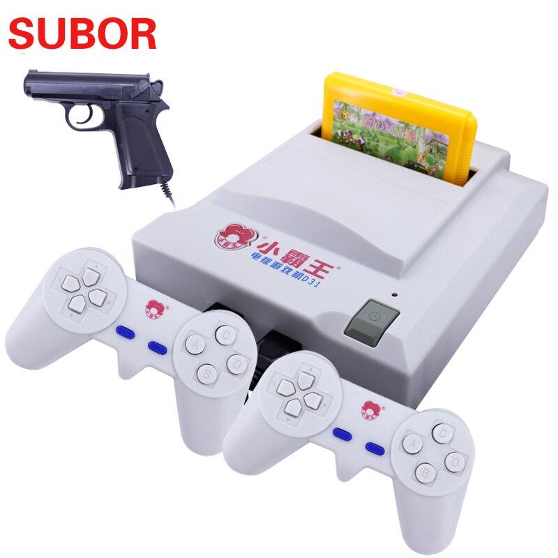 Subor D31 мини Dendy денди Ретро 8 бит видео ТВ электронный игровой консоли игры для мальчиков NES classic edition 500 классические игры
