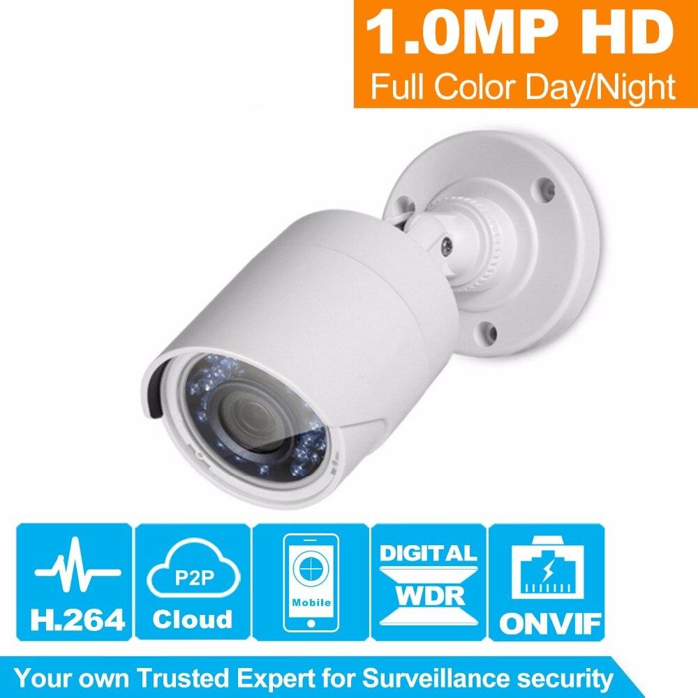 HiSecu 1.0MP Bullet 720P IP Camera 1080P Outdoor IR 20m HD Security Waterproof Night Vision P2P CCTV IP Cam ONVIF IR Cut  escam 720p hd p2p ip cam bullet outdoor security cctv onvif waterproof camera night vision ir cut filter megapixel 3 6mm lens