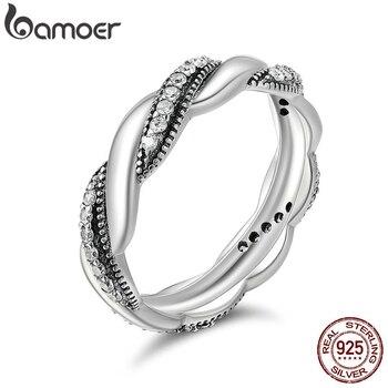 b7aa95bf58eb YHAMNI lujo Original 925 anillos de plata para hombres Set 6mm 1 quilates  diamante compromiso anillos de boda para hombre fino joyería de NJZ009