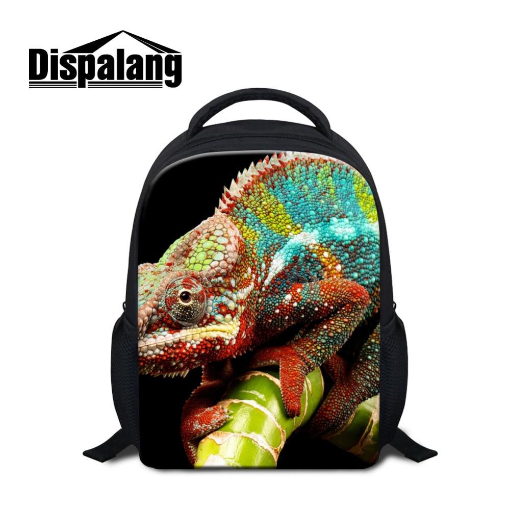 Dispalang Animal Print Mini School Bags For Kindergarten 12 Inch Backpacks Children Book Bag Small Back Pack Mochila Infantil