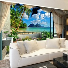 Custom 3d mural wall paper Three-dimensional large mural wallpaper for bedroom living room sofa 3d photo wallpaper  for wall 3 d 3d wall mural wall paper natural scenery peaceful night forest moon custom 3d room landscape photo wallpaper window view bedroom