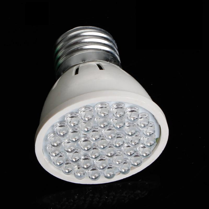Durable 38 LED Plant Grow Light AC 220V 2W E27 Plant Growth Aquarium 640K 5*5.5cm 80LM New YX#