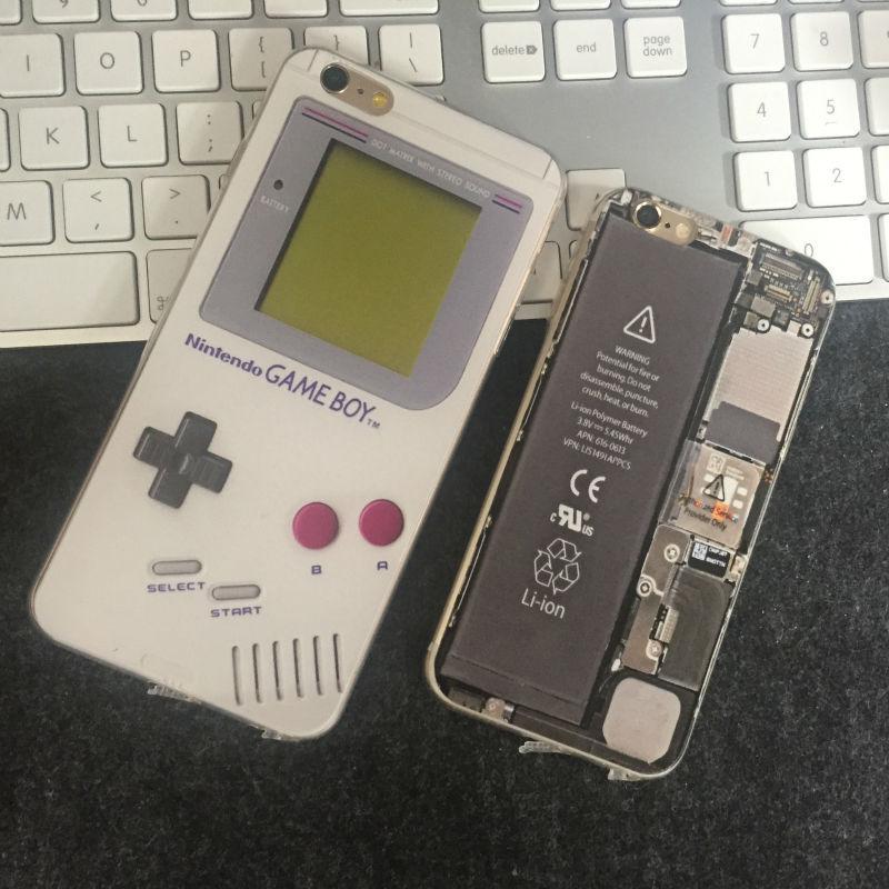 carcasa iphone 6 retro
