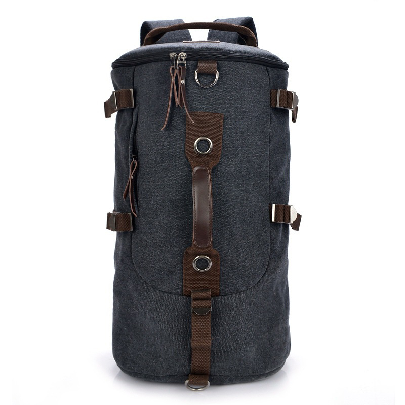 2017 New Large Capacity Men Travel Bag Casual Multifunctional Backpack Men Bags Leisure Canvas Bucket Shoulder Bag Luggage Bag vintage canvas shoulder travel bags men large casual men crossbody messenger travel bag leisure hand luggage travel bags 1062