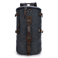 2016 New Large Capacity Man Travel Bag Outdoor Mountaineering Backpack Men Bags Hiking Camping Canvas Bucket