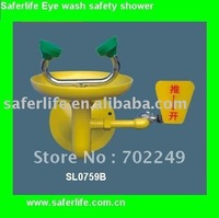 Paslanmaz Çelik Acil Göz Duş Göz Yıkama emniyet duşu Yüz duş