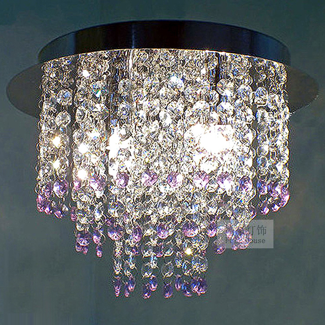 Hot New Brief Modern Led Crystal Ceiling Lights Aisle Entranceway Lighting Lamps Free