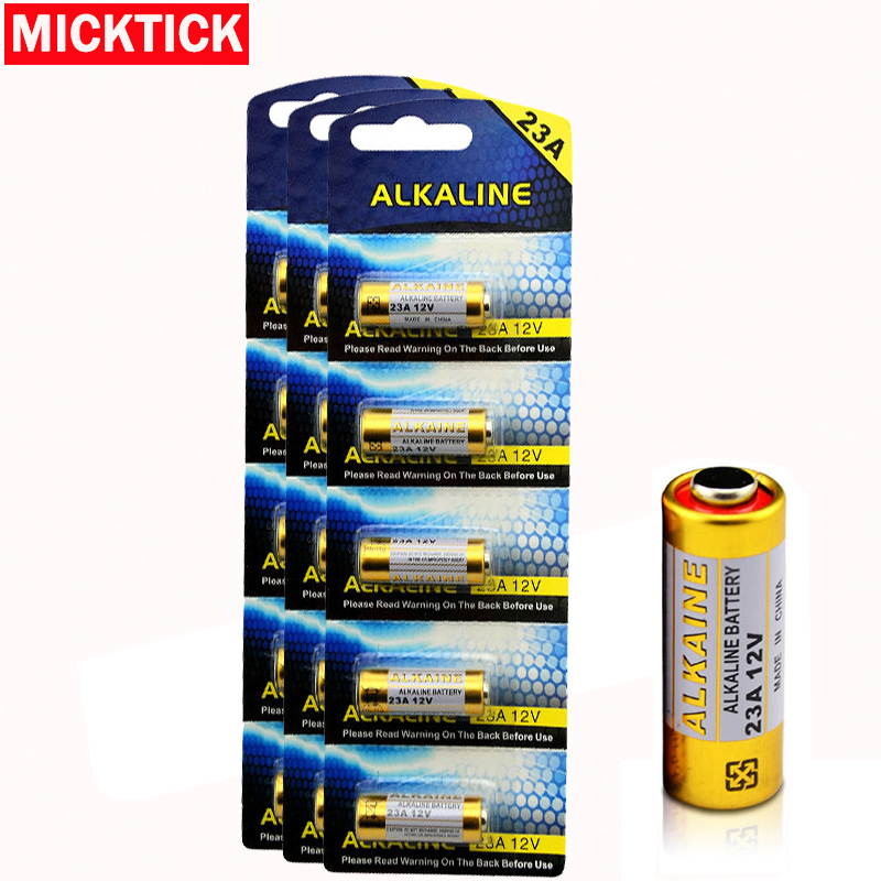 5x/card 15pcs/Lot 23A12V <font><b>Battery</b></font> Small <font><b>Battery</b></font> 23A <font><b>12V</b></font> 21/23 <font><b>A23</b></font> E23A MN21 MS21 V23GA L1028 Alkaline Dry <font><b>Battery</b></font> image