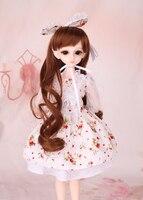 BJD doll SD doll 1/4 1/6 1/3 white floral skirt