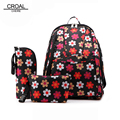 28*19*40cm Canvas Floral Baby Diaper Bag Backpack Stroller Mummy Maternity Nappy Bag For Mom Mother Insulation Bag Organizer