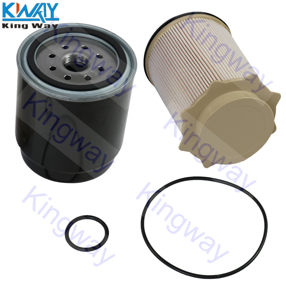 hight resolution of free shipping king way oil fuel filter for cummins dodge ram 6 7l diesel 2013 17 2500 3500 4500 5500 in fuel filters from automobiles motorcycles on