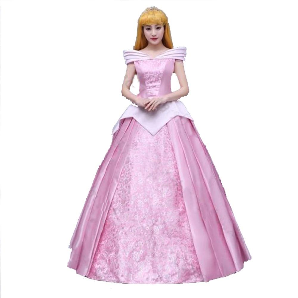 2017 New Style Sleeping Beauty Cosplay Dress Princess
