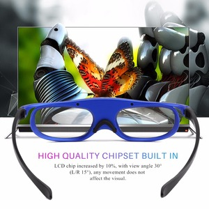 Image 5 - FORNORM GS1000 Battery Universal DLP 3D Glasses Active Shutter 96 144Hz For Optoma BenQ Acer Viewsonic for Dell JmGO XGIMI 3DTV