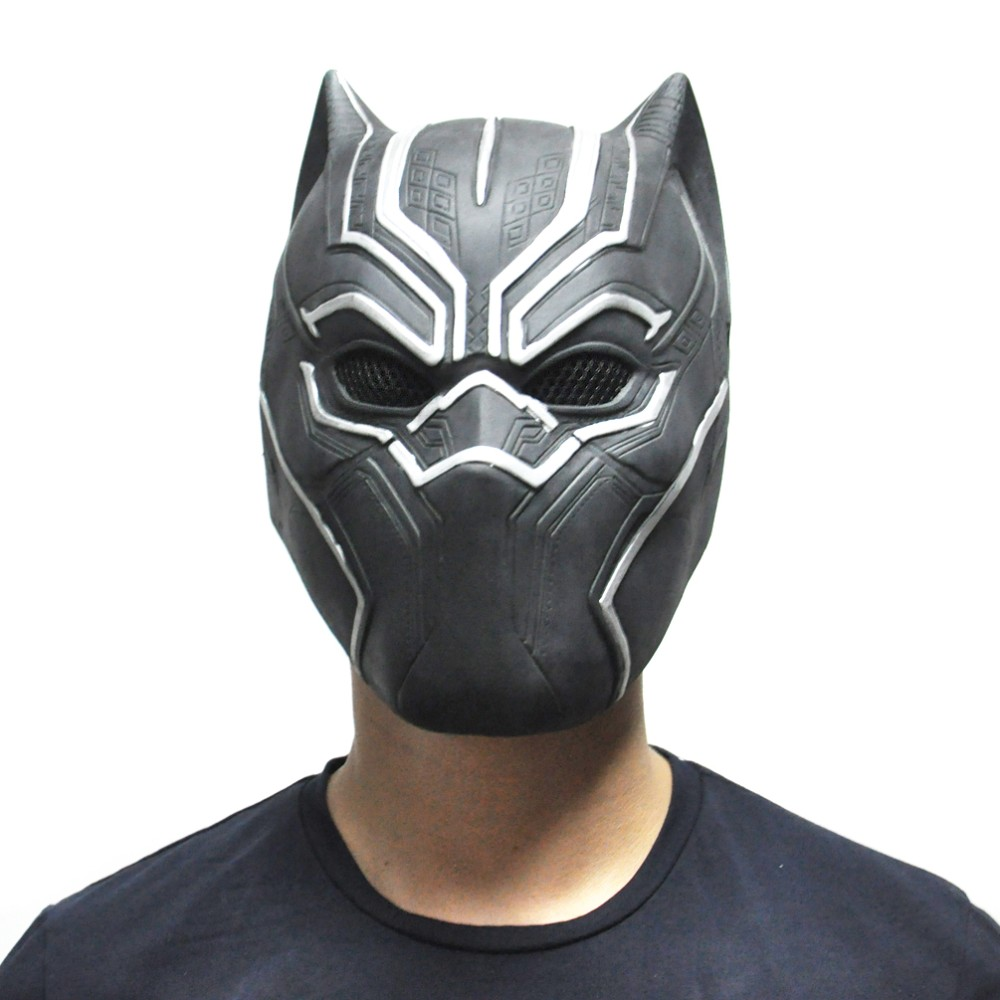 Black Panther Movie Latex Halloween Mask