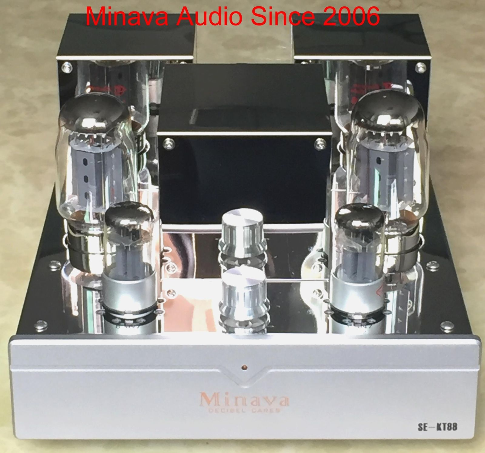 купить Douk Audio HiFi Audio High Power Amplifier KT88 Single-ended Integrated Vacuum Tube Amplifier Class A 12W+12W по цене 30598.88 рублей