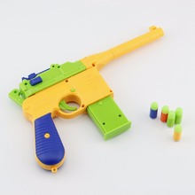 Plastic Soft Toy Gun Airsoft Pistol Pistola Airsoft Luminous Colorful Bullets Arme Arma Orbeez Gun Toys For Kids