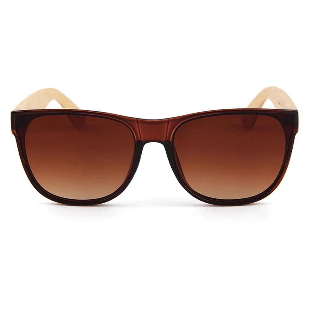 Willenskraft Marke Frauen Retro Uv400 Brille Objektiv Männer Braun Holz Sonnenbrille Lens Brown Anti Design Bambus Shades wrSYnrxTg