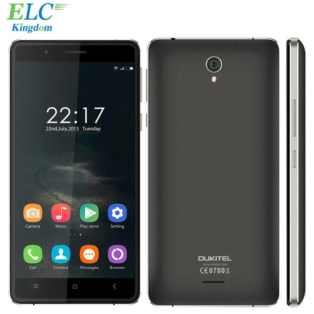Original Oukitel K4000 K4000 Lite 4G LTE font b Smartphone b font MT6735 Quad Core 5