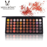 MISS ROSE Brand Makeup 55 Colors Matte Molten Rock Heat Eyeshadow Palette Shimmer Smoky Naked Eyes