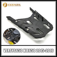 Motorcycle Tail Luggage Rack Rear Cargo Support Holder Bracket Shelf For KAWASAKI VERSYS 650 KLE650 VERSYS650 2015 2016