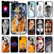 Babaitemacs Miller Rapper Novelty Fundas Phone Case Cover untuk Apple Iphone 8 7 6 6S Plus X XS Max 5 5S SE XR Ponsel(China)
