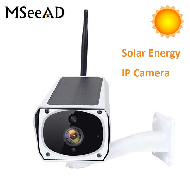 Outdoor Security Camera Solar Energy WIFI Wireless IP Camera 1080P Camera Waterproof Two-way Audio Cloud storage HD IR NightOutdoor Security Camera Solar Energy WIFI Wireless IP Camera 1080P Camera Waterproof Two-way Audio Cloud storage HD IR Night