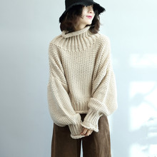pulls knitted turtleneck outwear