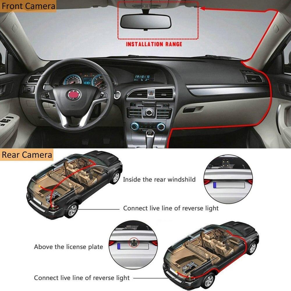 Image 3 - AZDOME 720P Car Rear View Camera For PG02 Mirror Dash Camera Car DVR Video Recorder Waterproof  Vehicle Backup CamerasVehicle Camera   -