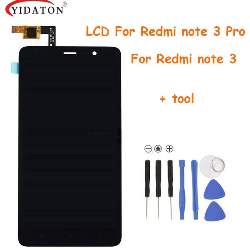 imágenes para Pantalla táctil Para Xiaomi Redmi Nota 3/Pro Pantalla LCD + el Panel de Tacto Digitalizador Para Xiaomi Redmi Nota 3 primer (pro)