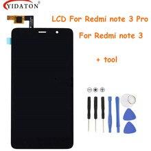 Pantalla táctil Para Xiaomi Redmi Nota 3/Pro Pantalla LCD + el Panel de Tacto Digitalizador Para Xiaomi Redmi Nota 3 primer (pro)