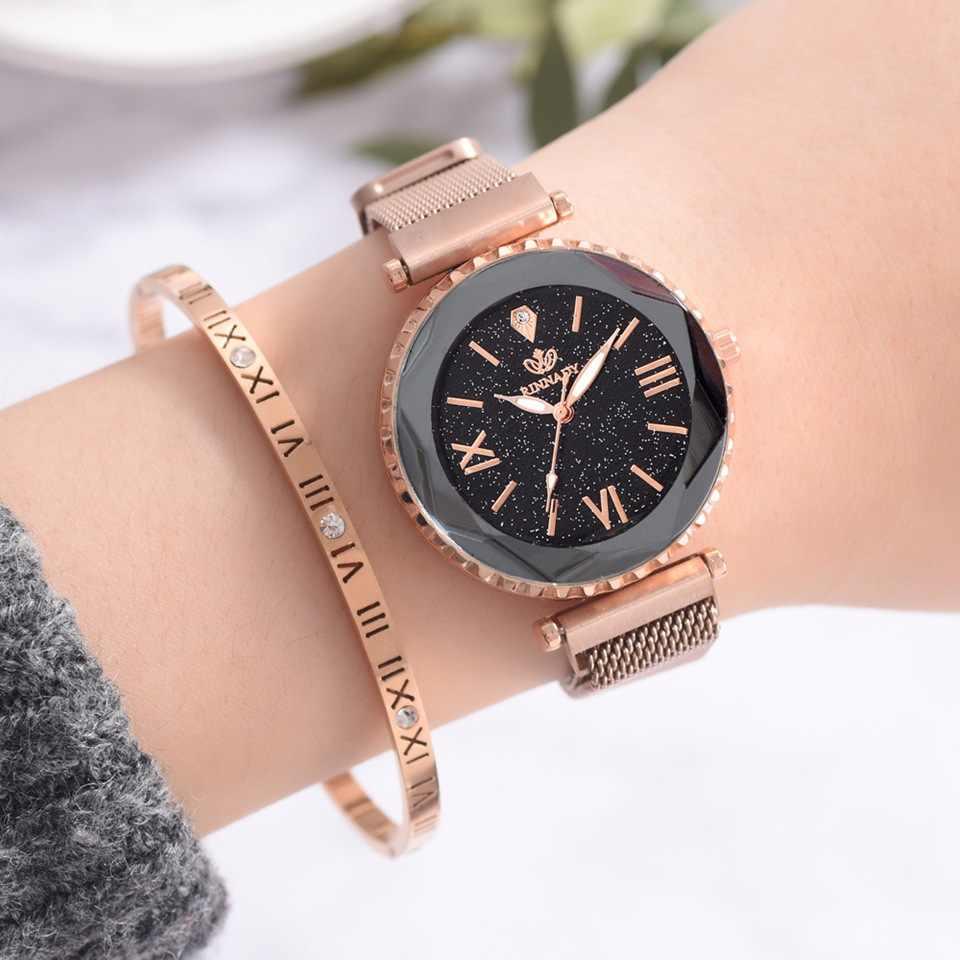 Модные роскошные женские часы с кристаллами, водонепроницаемые, розовое золото, сталь, сетка, кварцевые женские часы, Лидирующий бренд, часы, Relogio Feminino