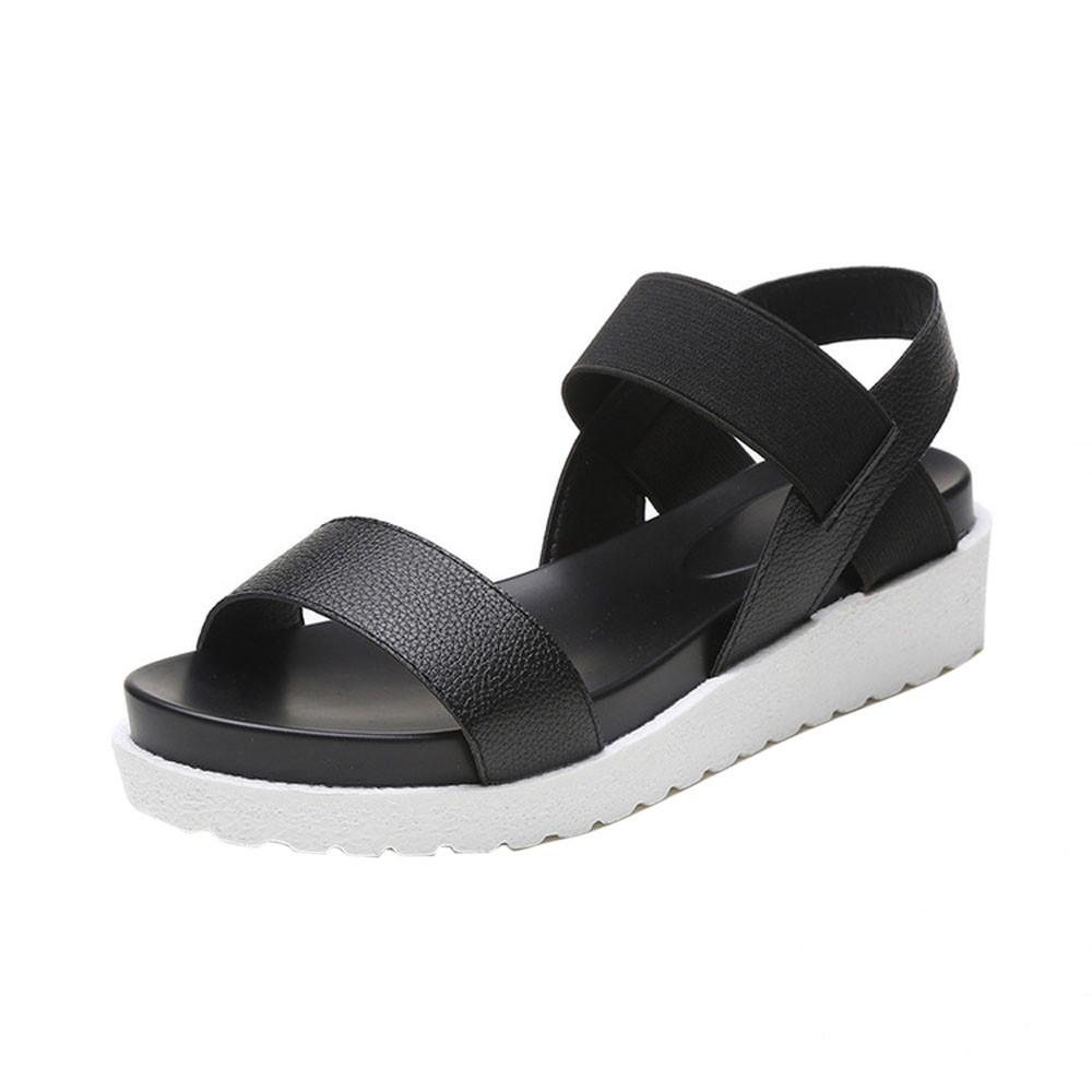 Fashion Sandals Women Aged Leather Flat Sandals Ladies ShoesFashion Sandals Women Aged Leather Flat Sandals Ladies Shoes