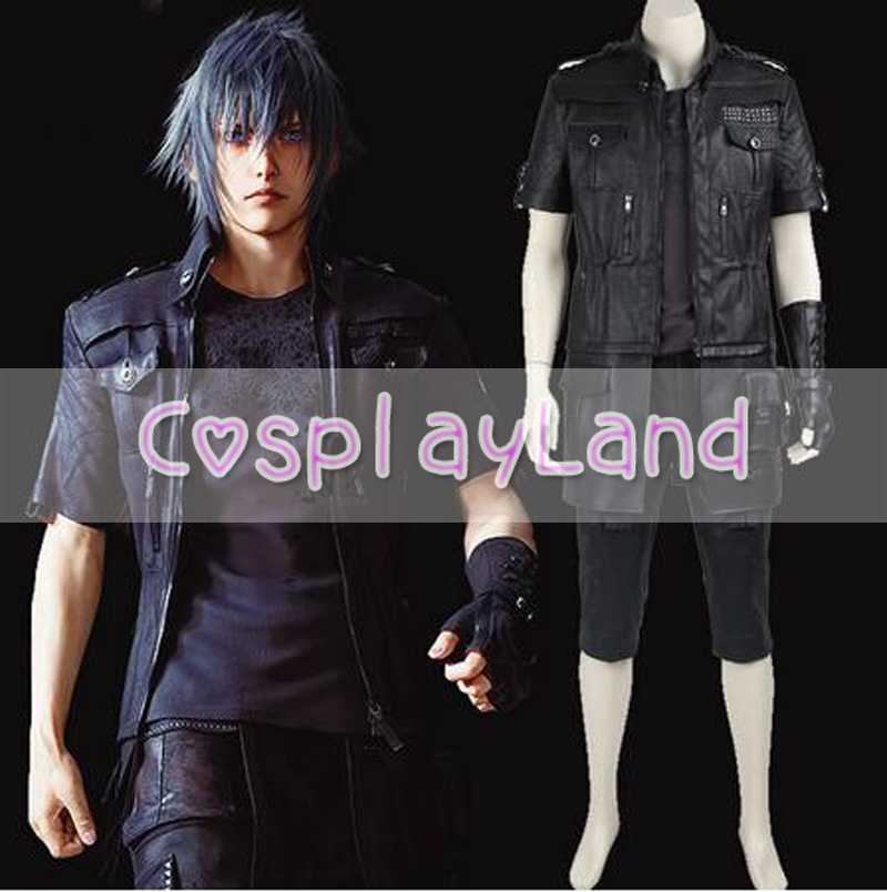 Final Fantasy XV Noctis Lucis Caelum Cosplay Costume Game Costumes Adult Men Carnival Christmas Cosplay Costumes Custom Made