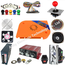Video game Pandora Box 9D+ 2222 in 1 DIY Arcade Bundles Kits Parts With Power Supply Jamma wire Coin selector