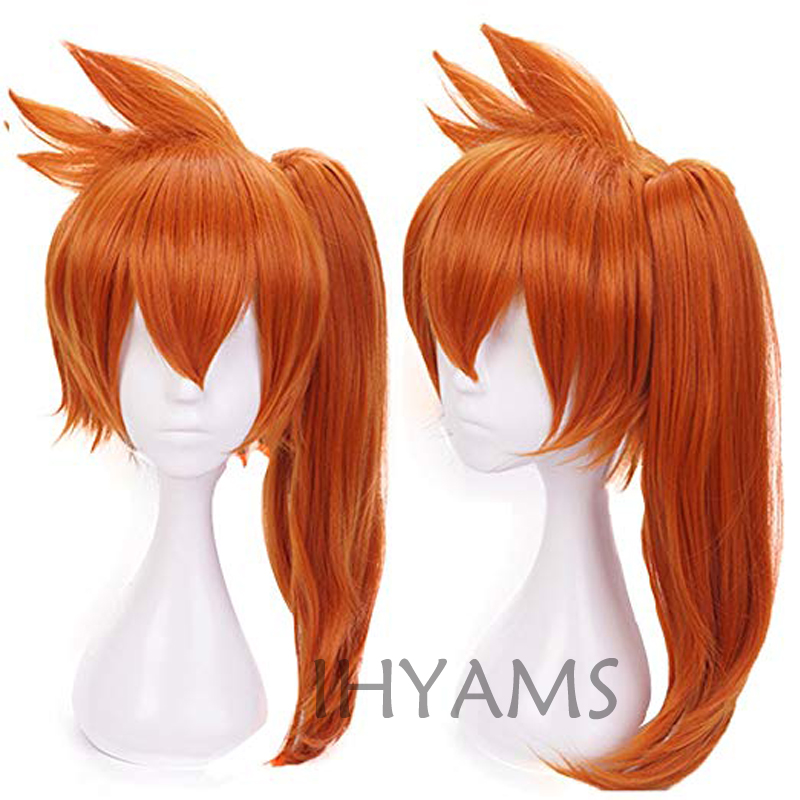 Anime Boku no Hero Academia Itsuka Kendo Wig Cosplay Costume My Hero Academia Women Synthetic Hair Halloween Party Wig + Wig Cap