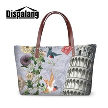 4e628cf04b Personalized Shoulder Handbags for Teen Girls Large Casual Hand Bags for  Women Ladies Landscape Floral Big