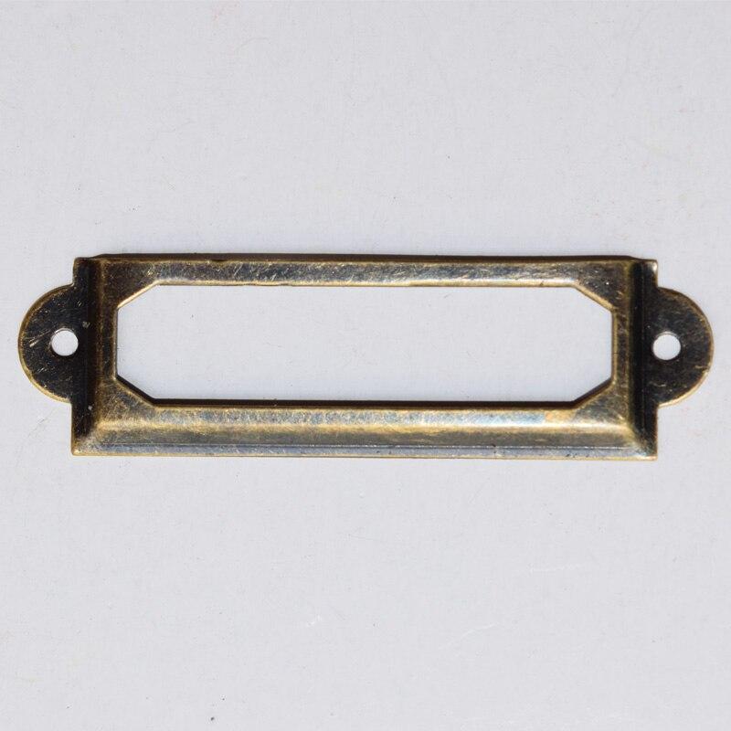 83 MM x 30 MM bronze antigo clássico titular   de etiqueta   etiqueta de c9f9b61eda