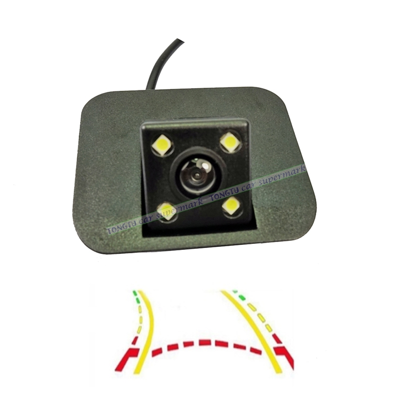 42d6df318bec CCD Intelligent Dynamic Trajectory Tracks Rear View Camera For Geely Bo Yue  2016