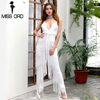 Missord 2016 Sexy Deep V Sleeveless Backless Sequin And Tassel Jumpsuit FT4954 2