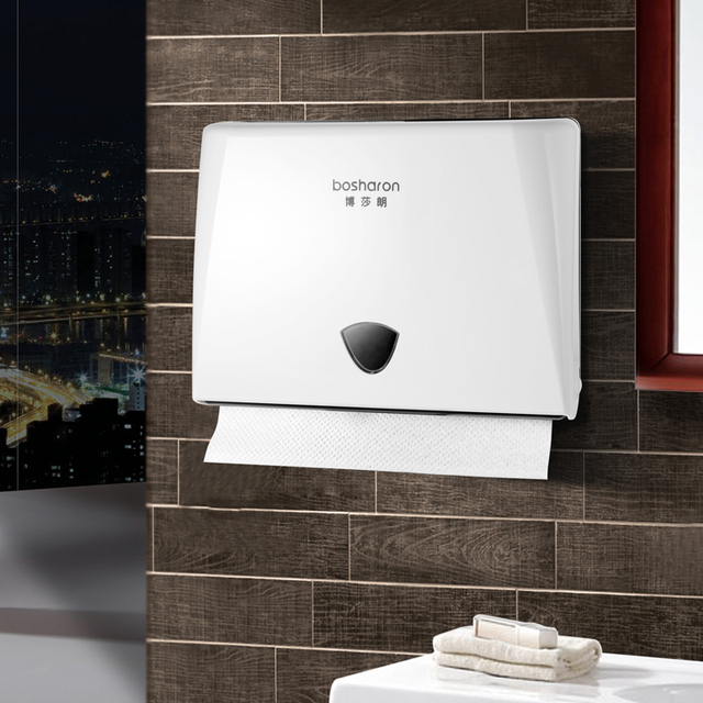 Plastic N Fold Hand Paper Towel Dispenser Wall Mounted Kitchen Towels Tissue Box Nice Home Hotel Bathroom Accessories