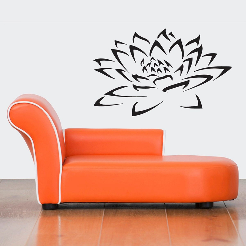 Home Decor Latest Collection Of Dctal Buddha Quotes Namaste Wall Decals Yoga Mandala Wall Stickers Living Rooms Diy Home Decor Yoga Lotus Decoration