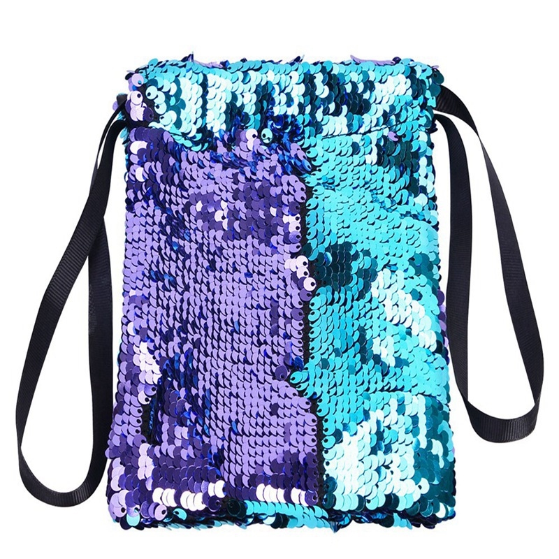 Обувь для девочек со стразами, отделение для хранения монет, держатель для карточки-ключа Организатор сдачи с симпатичным узором в горох для денег Портативный маленькие кошельки сумка чехол - Цвет: Lake purple