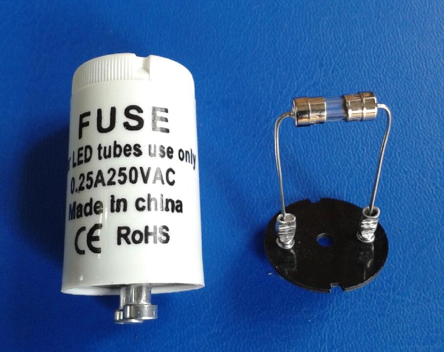 Manufacturers Of Led Bulbs Led Tube Lights: Aliexpress.com : Buy LED Tube Light Starter,LED Fuse,1A,2A