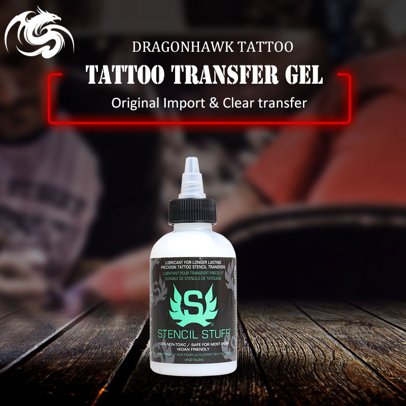 Free Shipping 4OZ Tattoo Stencils Transfer Gel 125ml Tattoo Transfer Supplies 125ml black