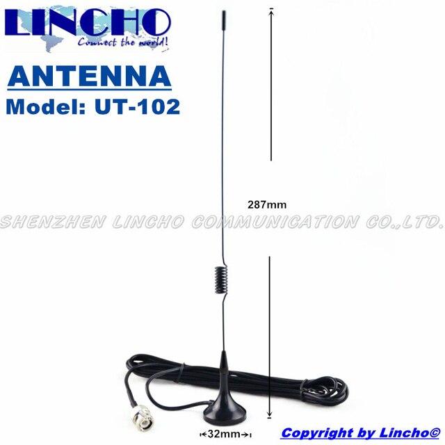 UT-102 BNC Автомобилей Магнитные антенны УКВ и УВЧ