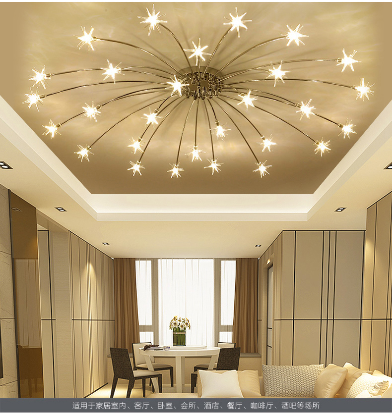 postmodern led chandelier ceiling living room lighting novelty luminaires home deco fixtures bedroom hanging lights nordic lamps