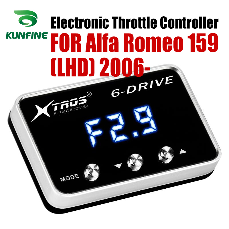 Car Electronic Throttle Controller Racing Accelerator Potent Booster For Alfa Romeo 159 LHD 2006-2019 Tuning Parts AccessoryCar Electronic Throttle Controller Racing Accelerator Potent Booster For Alfa Romeo 159 LHD 2006-2019 Tuning Parts Accessory