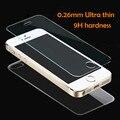 2 unids/lote frente + trasero de cristal templado para iphone 5 5s 6 6 s 7 plus 4 4S vidrio protector de pantalla de cine de cuerpo completo en el para el iphone SÍ